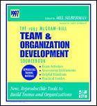 Couverture de l'ouvrage Team & organization development sourcebook