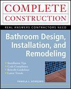 Couverture de l'ouvrage Bathroom design, installation and remodeling (paper)