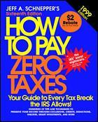Couverture de l'ouvrage How to pay zero taxes 1999 (16th ed' 98) paper
