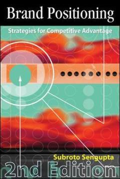 Couverture de l'ouvrage Brand positioning 2/e (2nd ed )