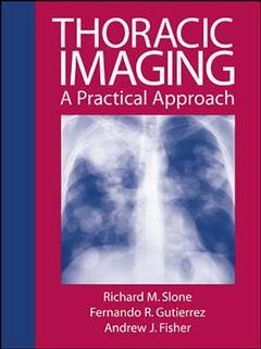 Couverture de l'ouvrage Thoracic imaging : a practical approach