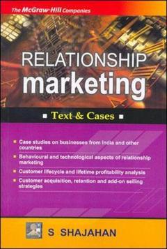 Couverture de l'ouvrage Relationship marketing