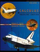 Couverture de l'ouvrage Calculus, premiere edition, volume i