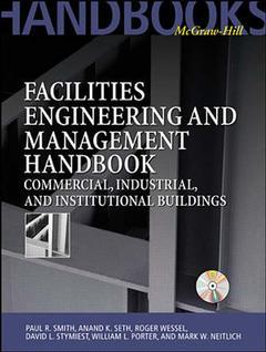 Couverture de l'ouvrage Handbook of mechanical & electrical systems for building & facilities