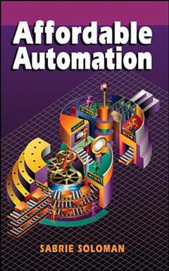 Couverture de l'ouvrage Affordable automation