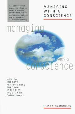Couverture de l'ouvrage Managing with consciente