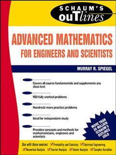 Couverture de l'ouvrage Schaum's outline of advanced mathematics for engineers and scientists.
