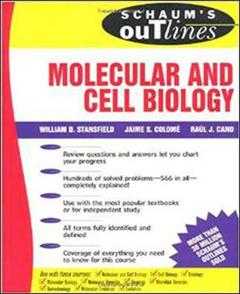 Couverture de l'ouvrage Schaum's outline of molecular and cell biology (inc. hundreds of solved problems)