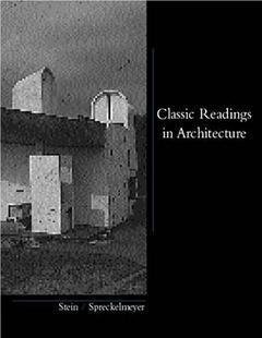 Couverture de l'ouvrage Classic readings in architecture