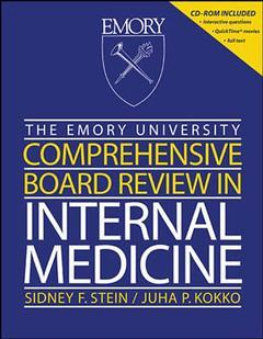 Couverture de l'ouvrage Emory university comprehensive board review in internal medicine