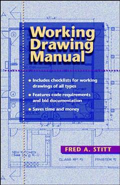 Couverture de l'ouvrage Working drawing manual