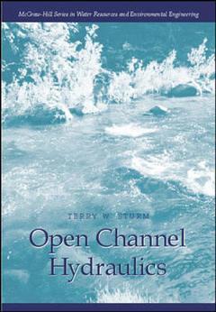 Couverture de l'ouvrage Open channel hydraulics