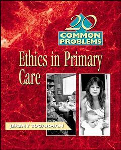 Couverture de l'ouvrage 20 common problems in medical ethics