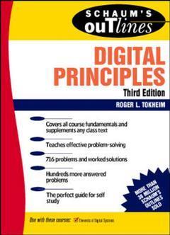 Couverture de l'ouvrage Digital principles, 3rd ed (Schaum)