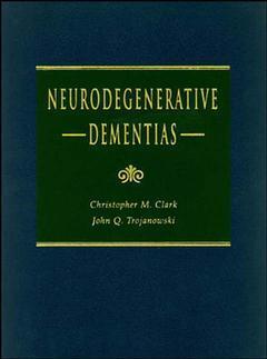 Couverture de l'ouvrage Neurodegenerative dementias