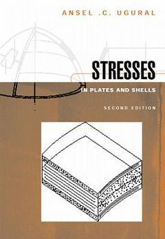 Couverture de l'ouvrage Stresses in plates and shells, 2nd ed 1998