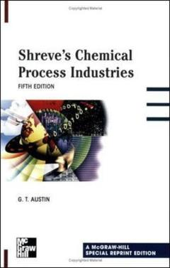Couverture de l'ouvrage Shreve's chemical process industries  (ISE)