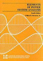 Couverture de l'ouvrage Elements of power systems analysis (ISE/ 4th ed' 82)