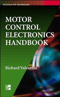 Couverture de l'ouvrage Motor control electronics handbook