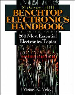 Couverture de l'ouvrage Benchtop electronics handbook : 250 most common electronic principles, 4th ed 1998
