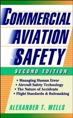 Couverture de l'ouvrage Commercial aviation safety (2nd ed )