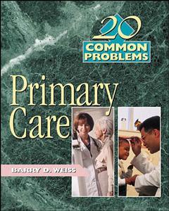 Couverture de l'ouvrage 20 common problems in primary care