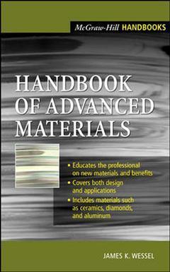 Couverture de l'ouvrage Handbook of advanced materials