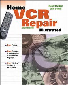 Couverture de l'ouvrage Home VCR repair illustrated, 2nd ed 1999