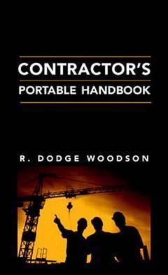 Couverture de l'ouvrage Contractor's portable handbook
