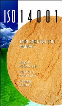 Couverture de l'ouvrage ISO 14001 implementation manual