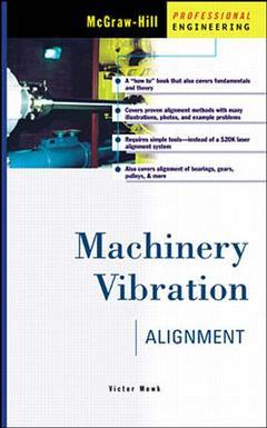 Couverture de l'ouvrage Machinery vibration alignment