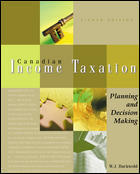 Couverture de l'ouvrage Canadian income taxation (8th ed )