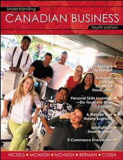 Couverture de l'ouvrage Understanding canadian business (4th ed )