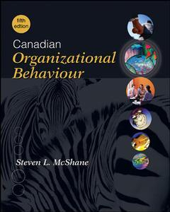 Couverture de l'ouvrage Canadian organizational behaviour (5th ed )