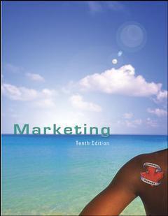 Couverture de l'ouvrage Marketing (10th ed )
