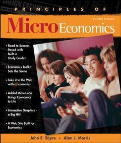 Couverture de l'ouvrage Principles of microeconomics (4th ed )