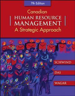 Couverture de l'ouvrage Canadian human resource management (7th ed )