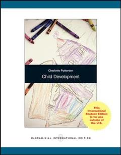 Couverture de l'ouvrage Child development