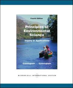 Couverture de l'ouvrage Principles of environmental science (4th ed )