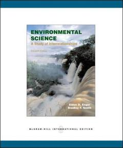 Couverture de l'ouvrage Environmental science (11th ed )