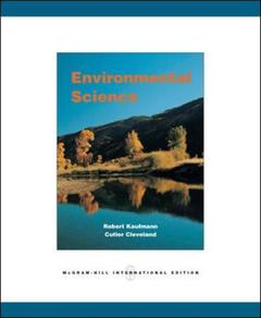 Couverture de l'ouvrage Environmental science
