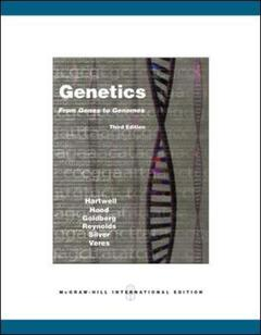 Couverture de l'ouvrage Genetics: from genes to genomes (3rd ed )
