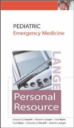 Couverture de l'ouvrage Lange personal clinical resource: pediatric emergency medicine