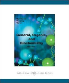 Couverture de l'ouvrage General organic and biochemistry