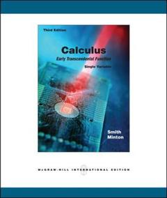 Couverture de l'ouvrage Calculus: single variable with mathzone: early transcendental functions (3rd ed )