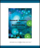 Couverture de l'ouvrage General organic and biochemistry (5th ed )