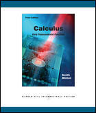 Couverture de l'ouvrage Calculus with mathzone: early transcendental functions (3rd ed )