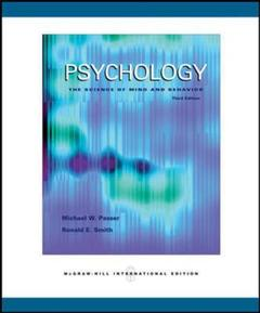 Couverture de l'ouvrage Psychology: the science of mind and behavior with in-psych cd (3rd ed )