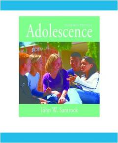 Couverture de l'ouvrage Adolescence with powerweb (11th ed )