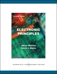 Couverture de l'ouvrage Electronic principles with simulation cd (7th ed )